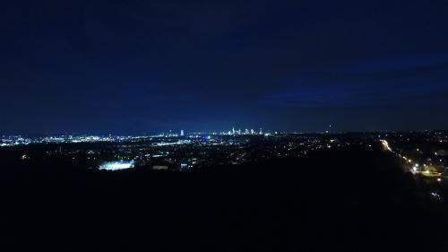 Bergen-Enkheim bei Nacht