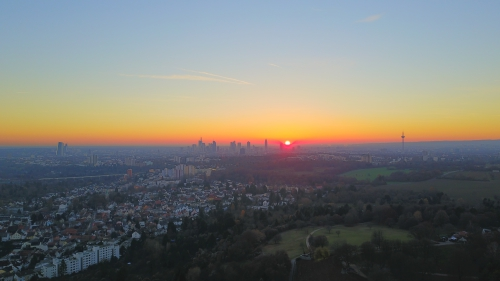 Lohrberg Sonnenuntergang