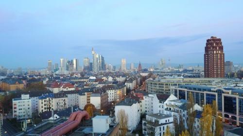 Innenstadt mit Blick auf Sachsenhausen